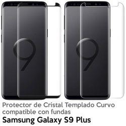 Protector pantalla Cristal Templado Completo - Samsung Galaxy S9 Plus