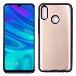 Funda Metálica Huawei P Smart 2019 Dorada