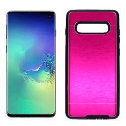Funda Metálica Samsung Galaxy S10 Rosa