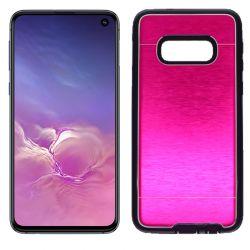 Funda Metálica Samsung Galaxy S10E Rosa