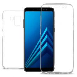 Funda Doble 360 Delantera y Trasera Sin Puntos - Samsung Galaxy A8