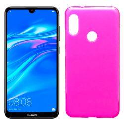 Funda de TPU Mate Lisa para Huawei Y7 2019 Silicona flexible Rosa