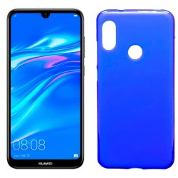 Funda de TPU Mate Lisa para Huawei Y7 2019 Silicona flexible Azul