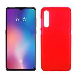 Funda de TPU Mate Lisa para Xiaomi Mi 9 Silicona Flexible Rojo