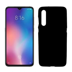 Funda de TPU Mate Lisa para Xiaomi Mi 9 Silicona Flexible Negro