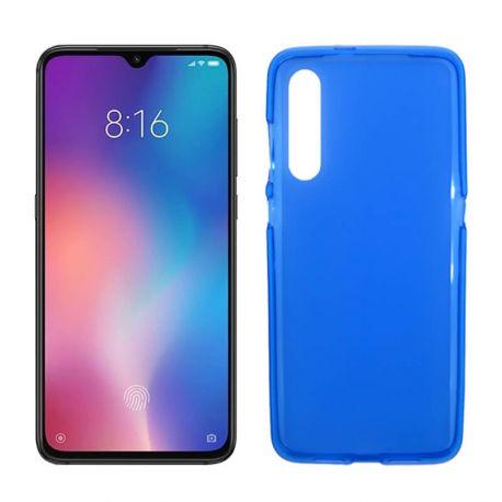 Funda de TPU Mate Lisa para Xiaomi Mi 9 Silicona Flexible Azul