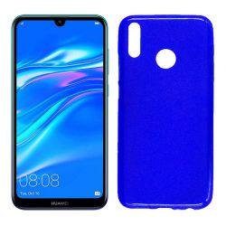Funda de TPU Mate Lisa para Huawei Y9 2019 Silicona Azul