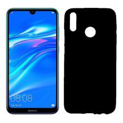 Funda de TPU Mate Lisa para Huawei Y9 2019 Silicona Negro