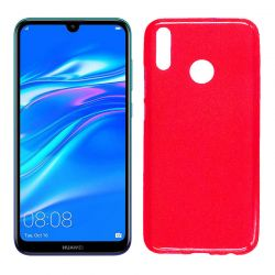 Funda de TPU Mate Lisa para Huawei Y9 2019 Silicona Rojo