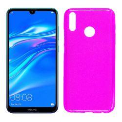 Funda de TPU Mate Lisa para Huawei Y9 2019 Silicona Rosa