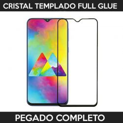 Protector pantalla full glue adhesivo completo Samsung Galaxy M20 Negro