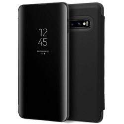 Funda Libro de espejo tipo Clear View para Samsung Galaxy S10E Negro