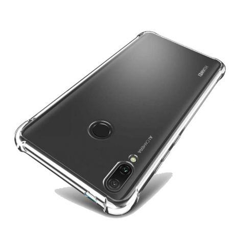 Funda de Silicona Transparente Antigolpe - Huawei Y9 2019