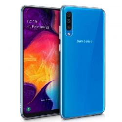 Funda de TPU de silicona Transparente para Samsung Galaxy A50