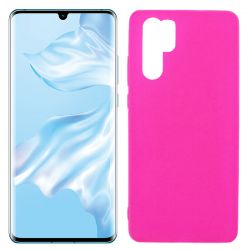 Funda de TPU Mate Lisa para Huawei P30 Pro Silicona Rosa