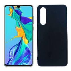 Funda de TPU Mate Lisa para Huawei P30 Silicona Negro