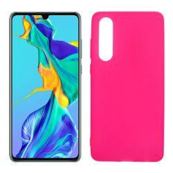 Funda de TPU Mate Lisa para Huawei P30 Silicona Rosa