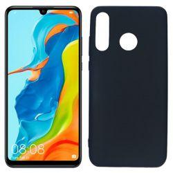 Funda de TPU Mate Lisa para Huawei P30 Lite Silicona Negro