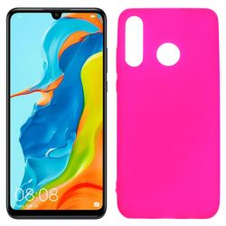 Funda de TPU Mate Lisa para Huawei P30 Lite Silicona Rosa