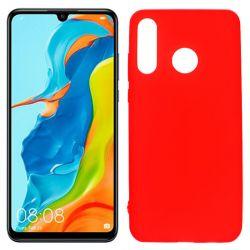 Funda de TPU Mate Lisa para Huawei P30 Lite Silicona Rojo