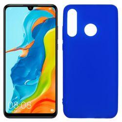 Funda de TPU Mate Lisa para Huawei P30 Lite Silicona Azul