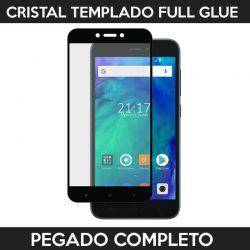 Protector pantalla con adhesivo y pegado completo - Xiaomi Redmi Go Negro