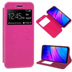Funda Tipo Libro con cierre imán Xiaomi Redmi 7 Rosa