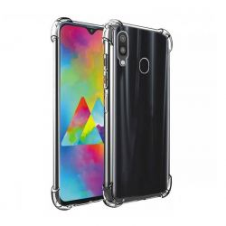 Funda Antishock Silicona Transparente Samsung Galaxy M20