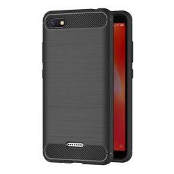 Funda Silicona diseño fibra de carbono - Xiaomi Redmi 6A