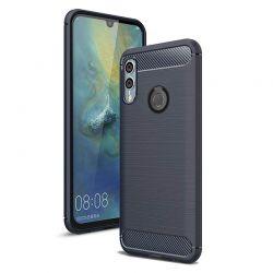 Funda Silicona diseño fibra de carbono - Huawei P Smart 2019