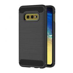 Funda Silicona diseño fibra de carbono - Samsung Galaxy S10e