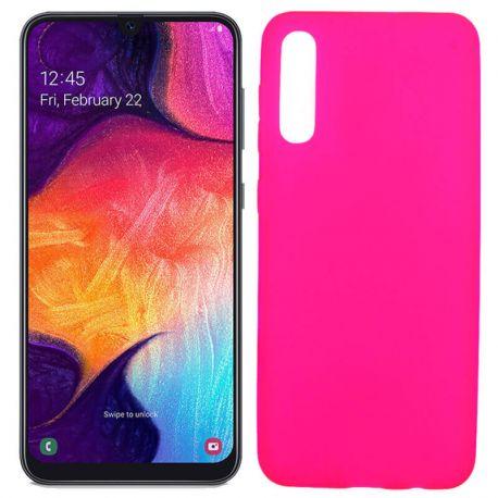 00223692db7 Funda TPU Mate Lisa Samsung Galaxy A50 Silicona Flexible Rosa