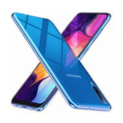 Funda Silicona Transparente Samsung Galaxy A70