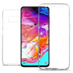 Funda Doble 360 Frontal y Trasera Sin Puntos - Samsung Galaxy A70