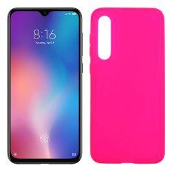 Funda de TPU Mate Lisa para Xiaomi Mi 9 SE Silicona Flexible Rosa