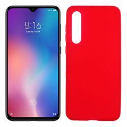 Funda de TPU Mate Lisa para Xiaomi Mi 9 SE Silicona Flexible Rojo