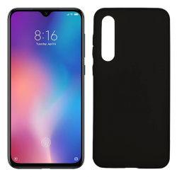Funda de TPU Mate Lisa para Xiaomi Mi 9 SE Silicona Flexible Negro