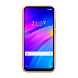 Funda de Silicona tipo iPhone para Samsung Galaxy A40 Rosa