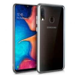 Funda Silicona Transparente Samsung Galaxy A20E