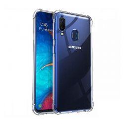 Funda Transparente Silicona cantos reforzados Samsung Galaxy A20E