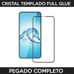 Protector pantalla full glue adhesivo completo Samsung Galaxy S10 Lite Negro