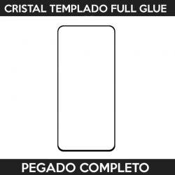 Protector pantalla pegado completo Samsung Galaxy A80 Negro