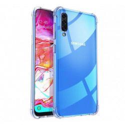 Funda esquinas reforzadas de Silicona - Samsung Galaxy A70