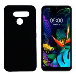 Funda negra LG K50 / Q60 de silicona