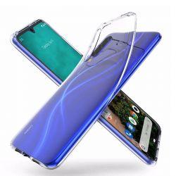 Funda de silicona transparente para Xiaomi Mi A3