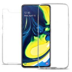 Funda Doble 360 Frontal y Trasera Sin Puntos - Samsung Galaxy A80