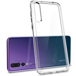 Funda de Silicona Transparente Semirrígida para Huawei P20 Pro