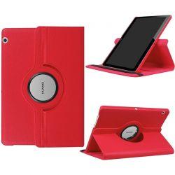 Funda Giratoria 360º para Huawei Mediapad T3 10 Rojo