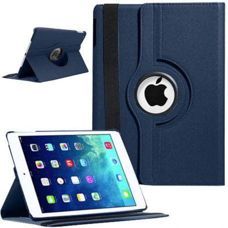 Funda Libro Giratoria 360 con Tapa y Soporte iPad 5 / Air Azul Marino