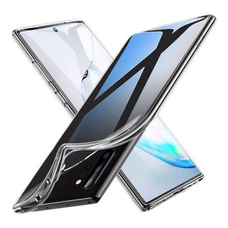 Funda Silicona transparente Samsung Galaxy Note 10 Plus